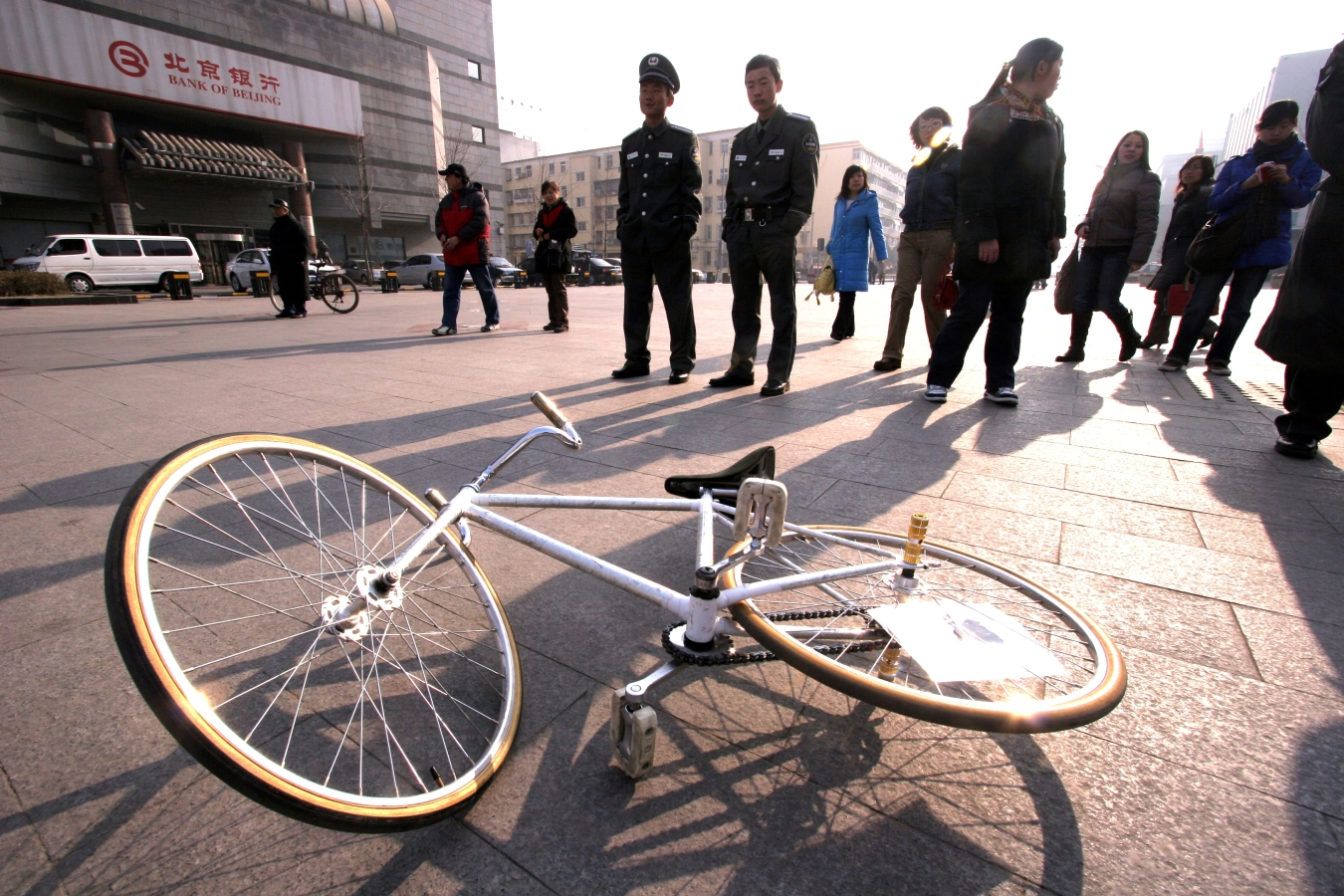 Fixed Gear Bike in Beijing