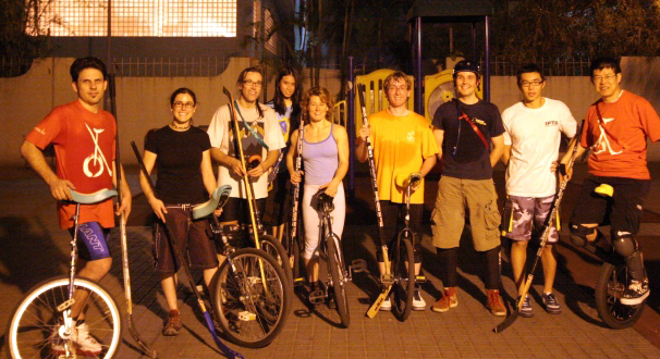 Unicycle Hockey Team of Hong Kong