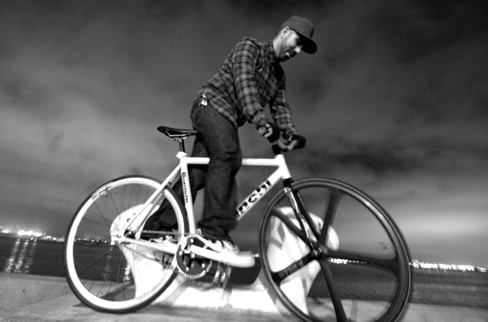 Fixed Gear Track Stand