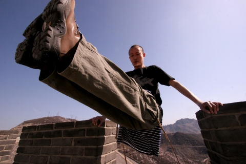 Acrobatics on Mang Shan