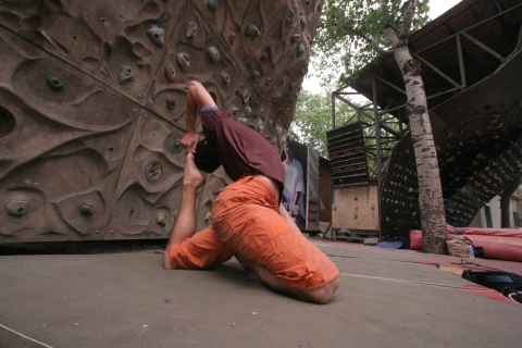 Really flexible climber