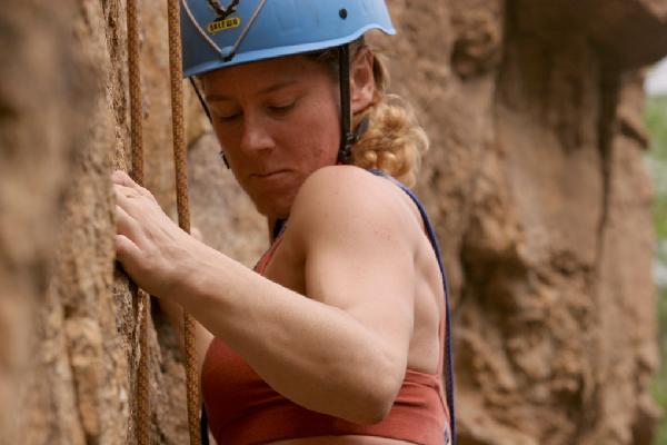 Ines Rock Climbing 2