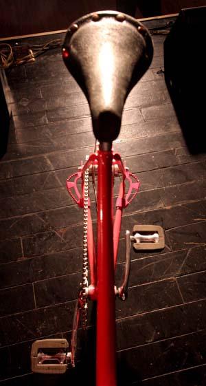 Vintage BMX Frame Standers