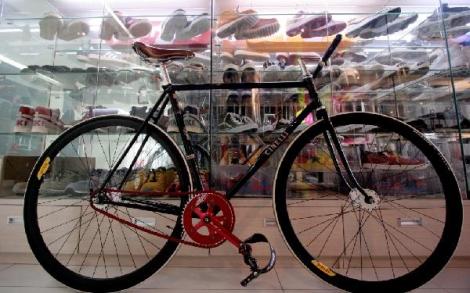 Vintage Cinelli Fixed Gear Bike