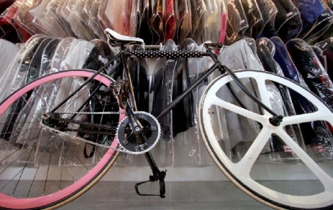 Beautiful Fixed Gear Bike