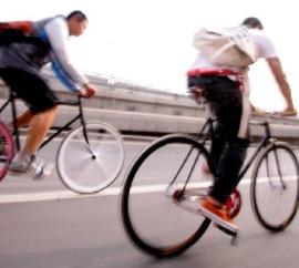 Riding Single Speed in Beijing