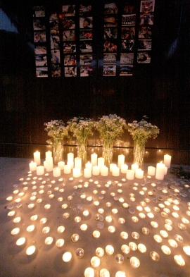 Candles for Sichuan Earthquake Victims