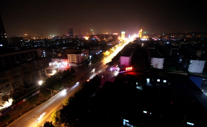 Qinhuangdao by Night