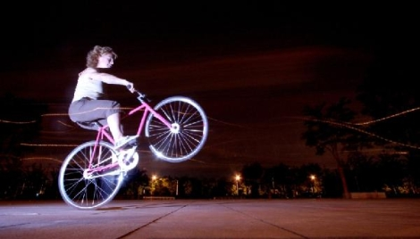 Ines Fixie Wheely Riding