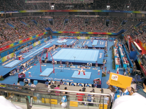 Beijing National Indoor Stadium for Gymnastics