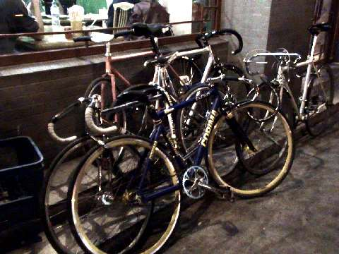 Fixed Gear Bike Pile