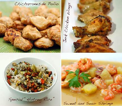 Chinese-Caribbean Fusion Food