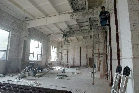 Beijing Indoor Bouldering Room