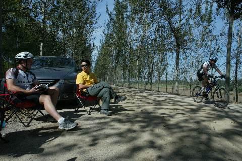 Andrew on Mountain Bike
