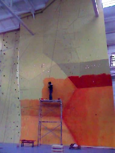 Ole Rock Climbing Wall Artist
