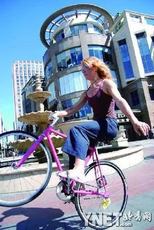 Ines Brunn Fixed Gear Bike