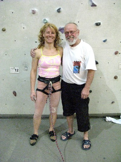66 Year Old Climber