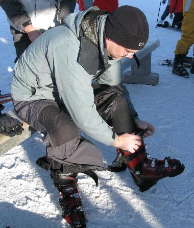 New Ski Boots