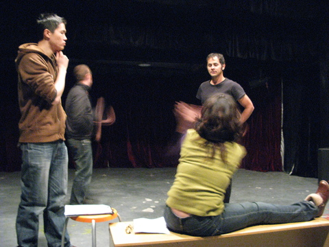 Fight Scene Rehearsal