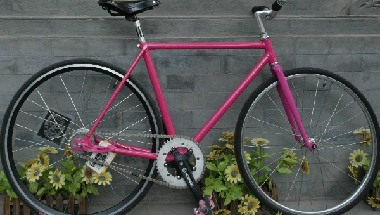 Ines Pink Fixed Gear