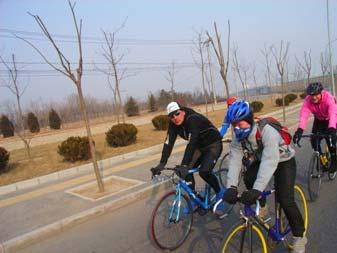 Beijing Winter Peloton