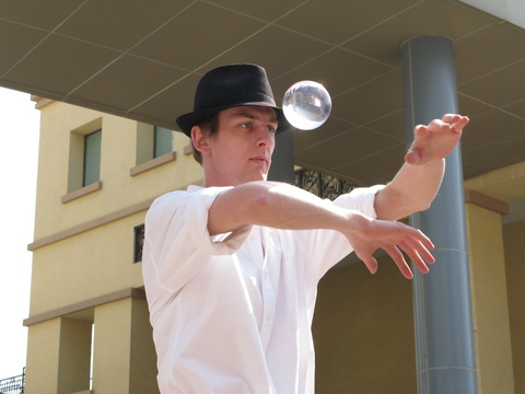 Oli Pinchbeck Contact Juggling