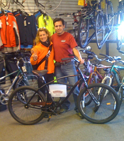 Cardinal Bike Shop Donated Beach Cruiser Bike