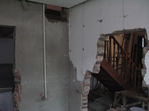 Knocking down Internal Walls