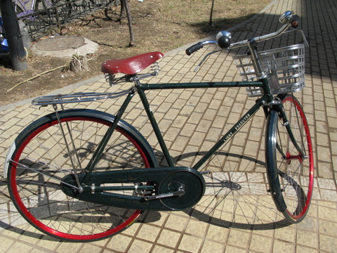 Beautiful Chinese Flying Pigeon Fixed Gear Bike