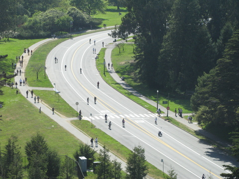 Roads open to Cyclists not Cars