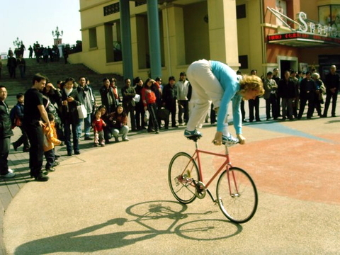 Ines Brunn Fixed Gear Tricks 2