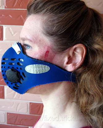 Anti-Pollution Mask Prevents Road Rash