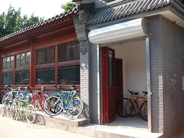 Beautiful Fixed Gear Bikes in Beijing