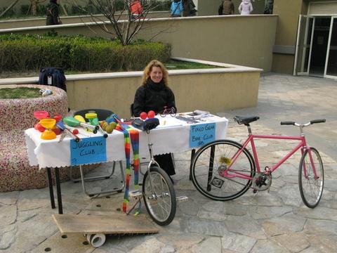 Beijing Jugglers and Beijing Fixed Gear Bike Group