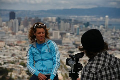 Ines Brunn Interview with San Francisco Downtown Background