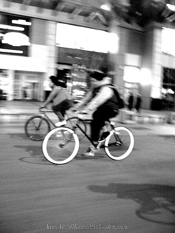 Fixed Gear in Wangfujing