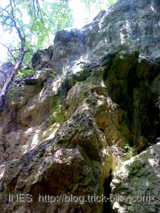 Franconian Switzerland Limestone Cliff