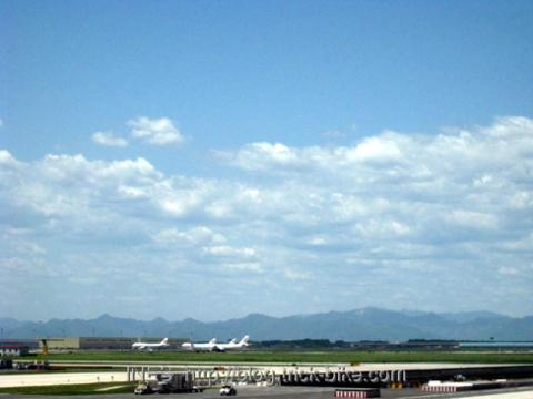 Blue Beijing Skies