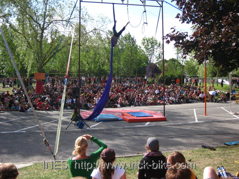 Aerial Performance at EJC 2009