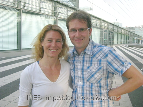 Ines at Munich Airport