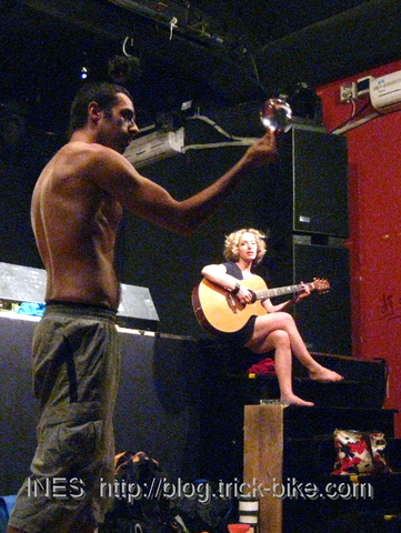 Jess Meider and Fede Moro Performance