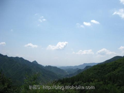 View on the Way to Miao Feng Shan