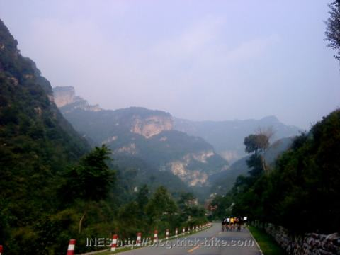 Cycling Huairou to Jiaojehe Pass