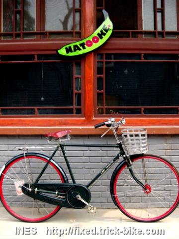 Ines Flying Pigeon Fixed Gear Bike