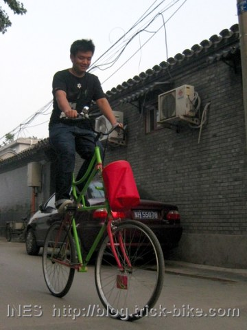 Tall Bike of Fede
