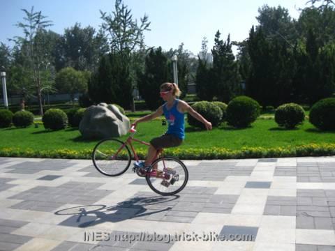 Ines Track Bike Wheely