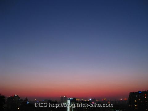 Beijing Sunset View