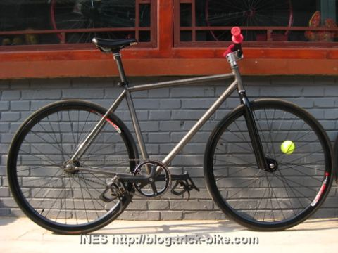 Xiao Lu's Fixed Gear Bike