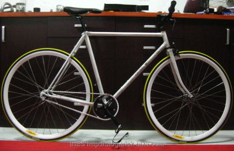Road Bike Frame Conversion to Fixed Gear