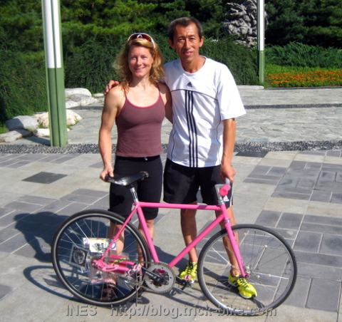 The Cyclist and the Marathon Guy